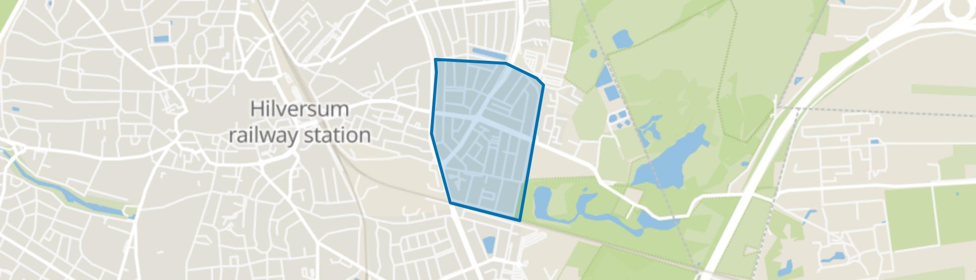 Liebergen, Hilversum map