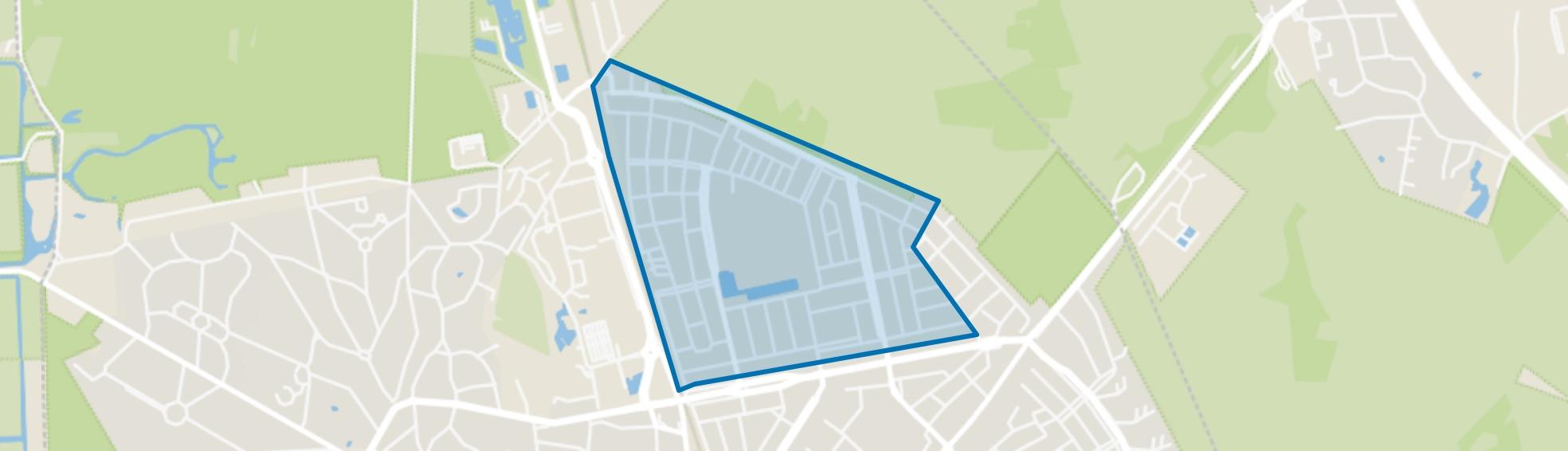 Noord, Hilversum map