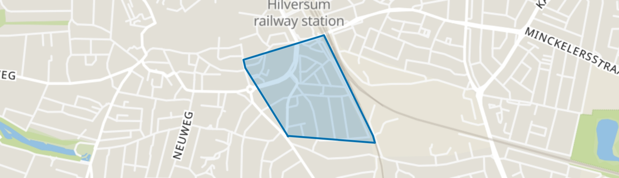 Sint Vitusbuurt, Hilversum map