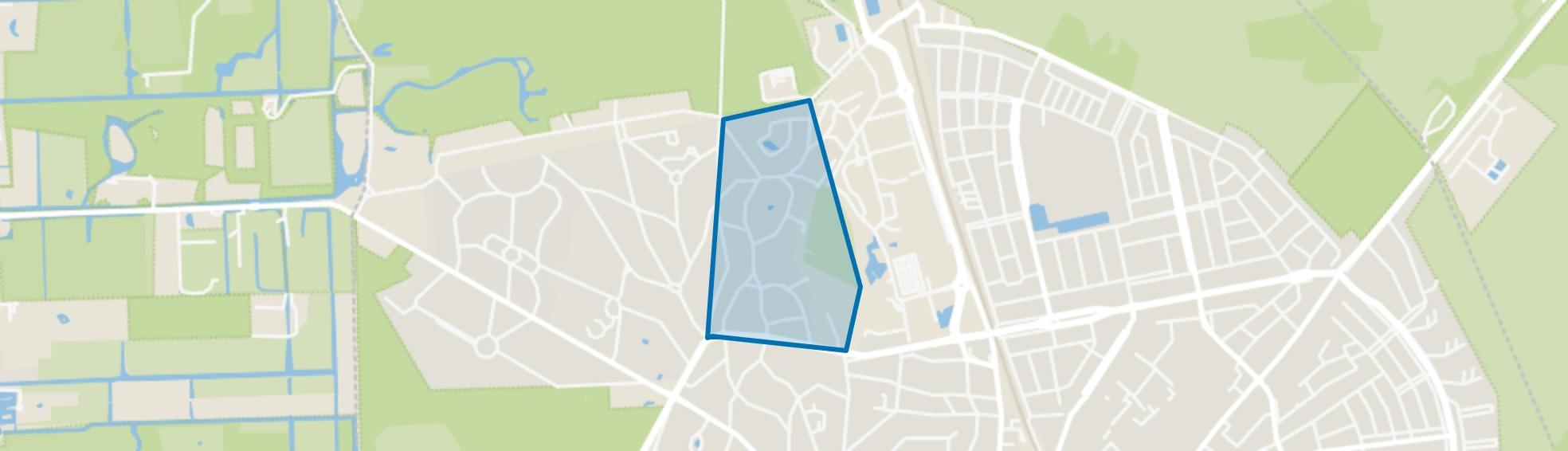 Trompenberg-Noord, Hilversum map