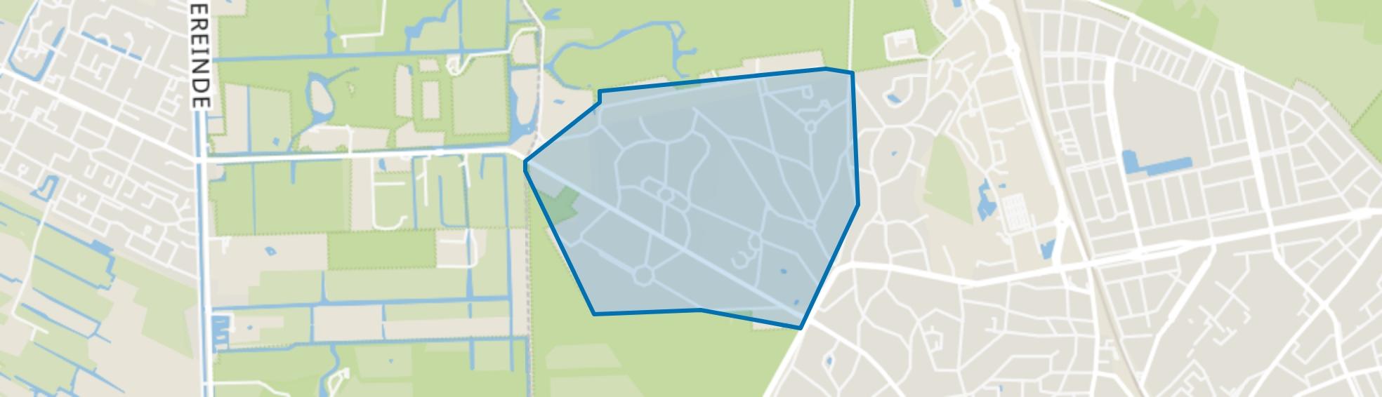 Villaparken, Hilversum map