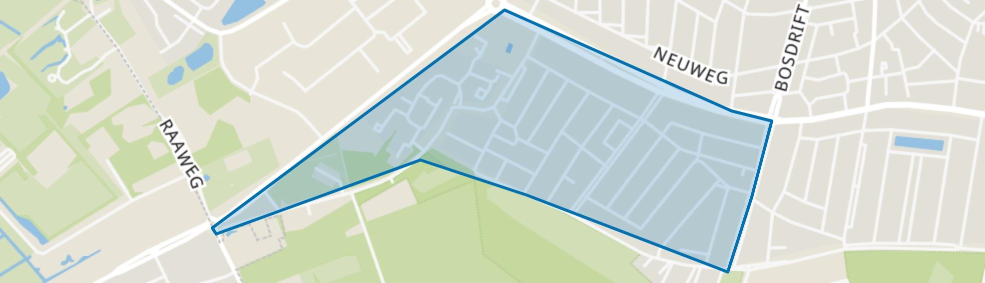 Zeeheldenkwartier, Hilversum map