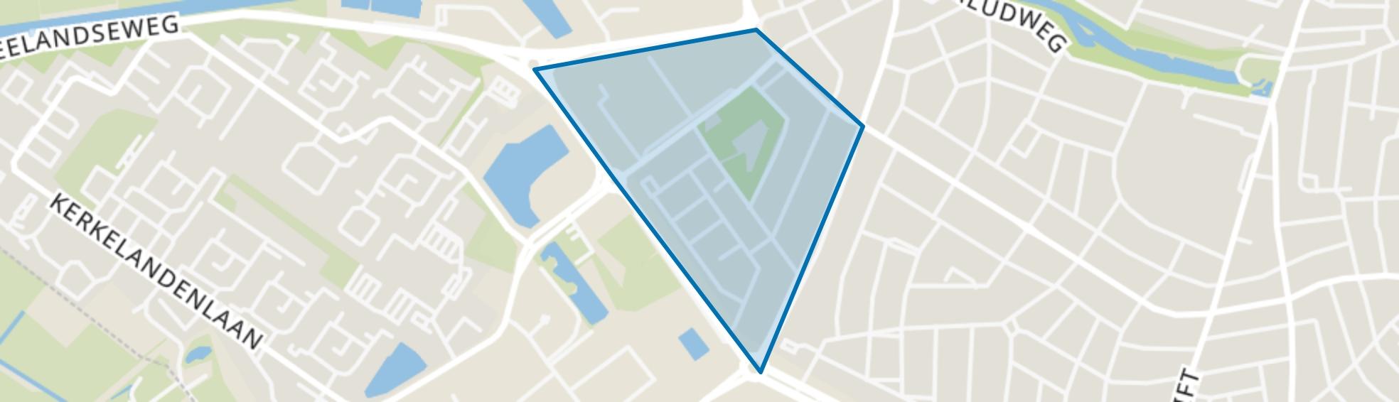 Zeverijn, Hilversum map