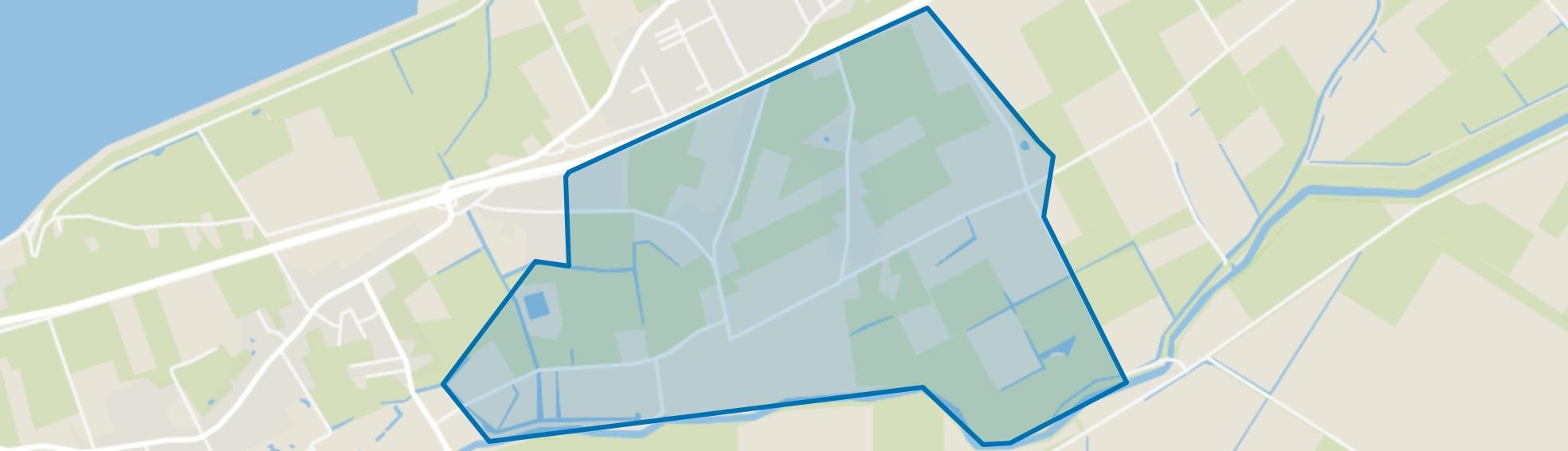 Oosterklief en Westerklief, Hippolytushoef map