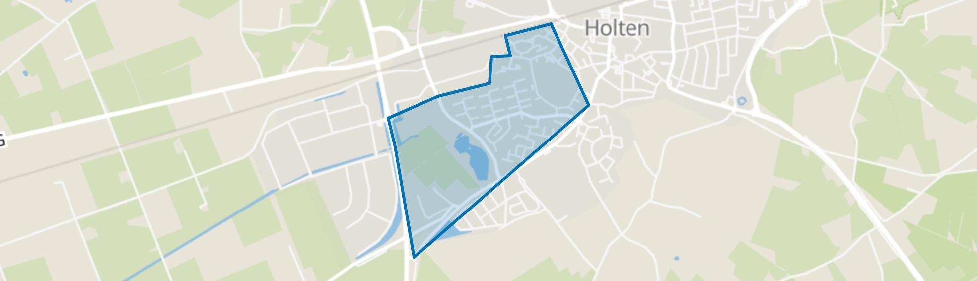 Holten-De Haar, Holten map