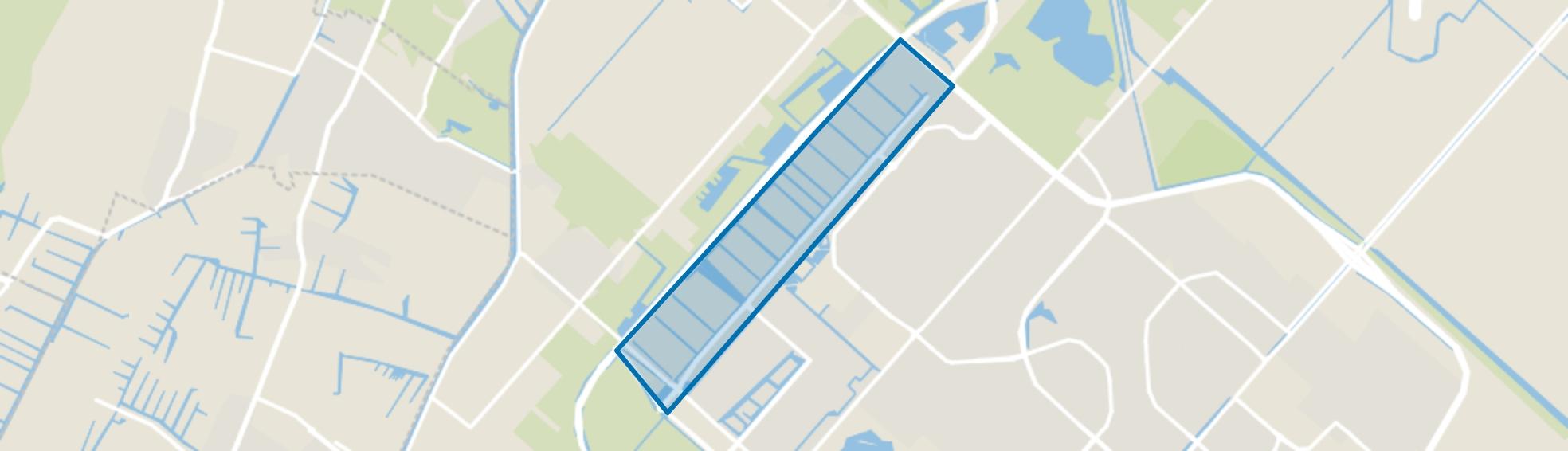 Hoofddorp Floriande West, Hoofddorp map