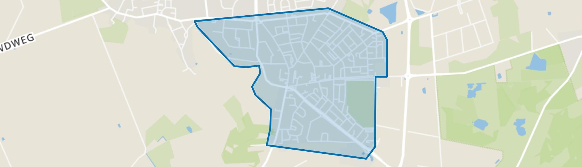 Hoogerheide, Hoogerheide map