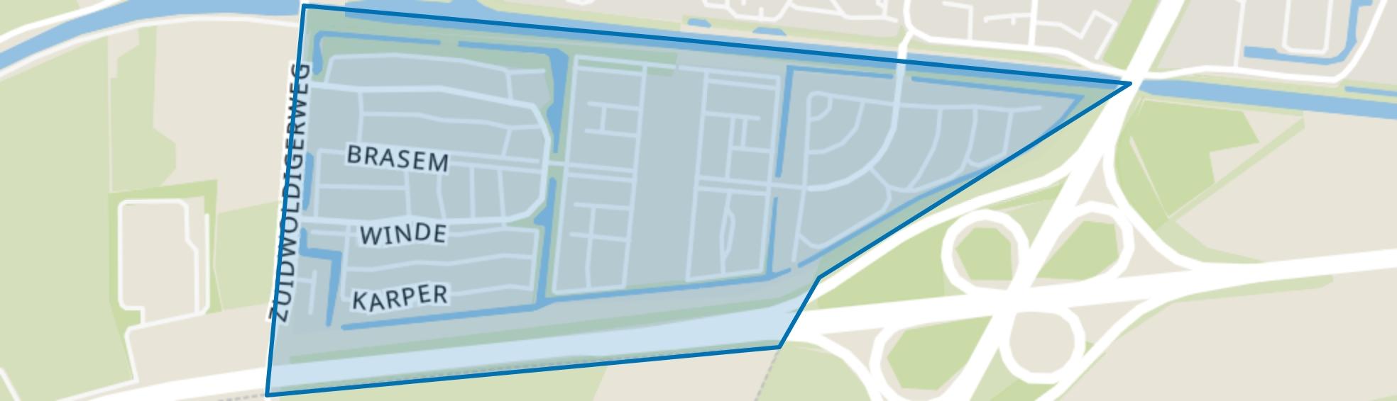 Erflanden, Hoogeveen map