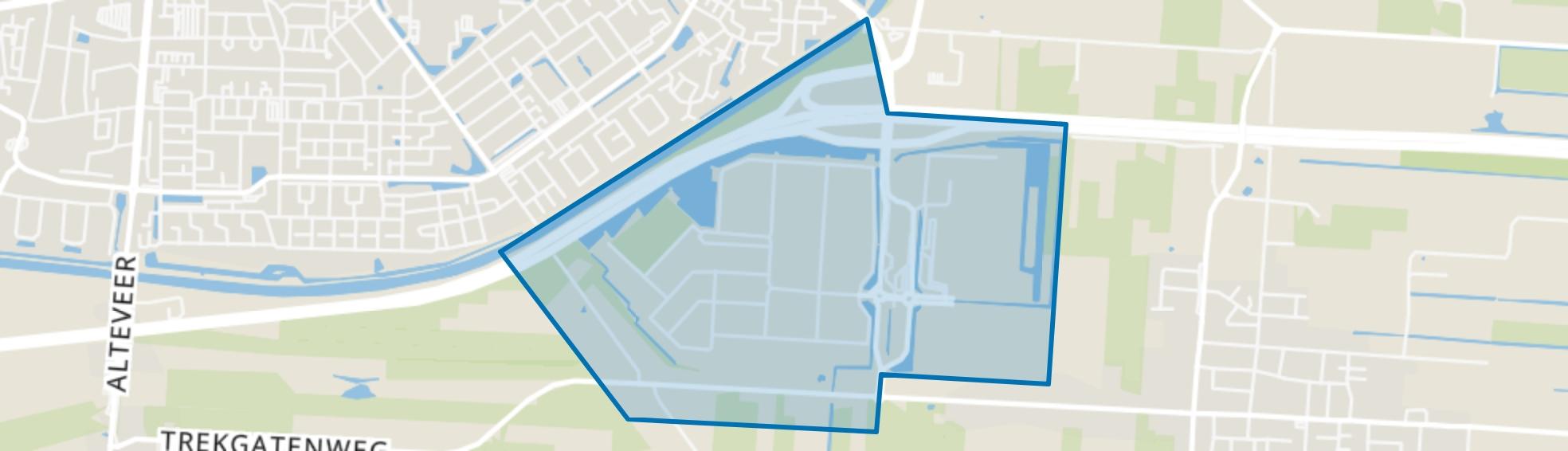 Industriegebied Buitenvaart, Hoogeveen map