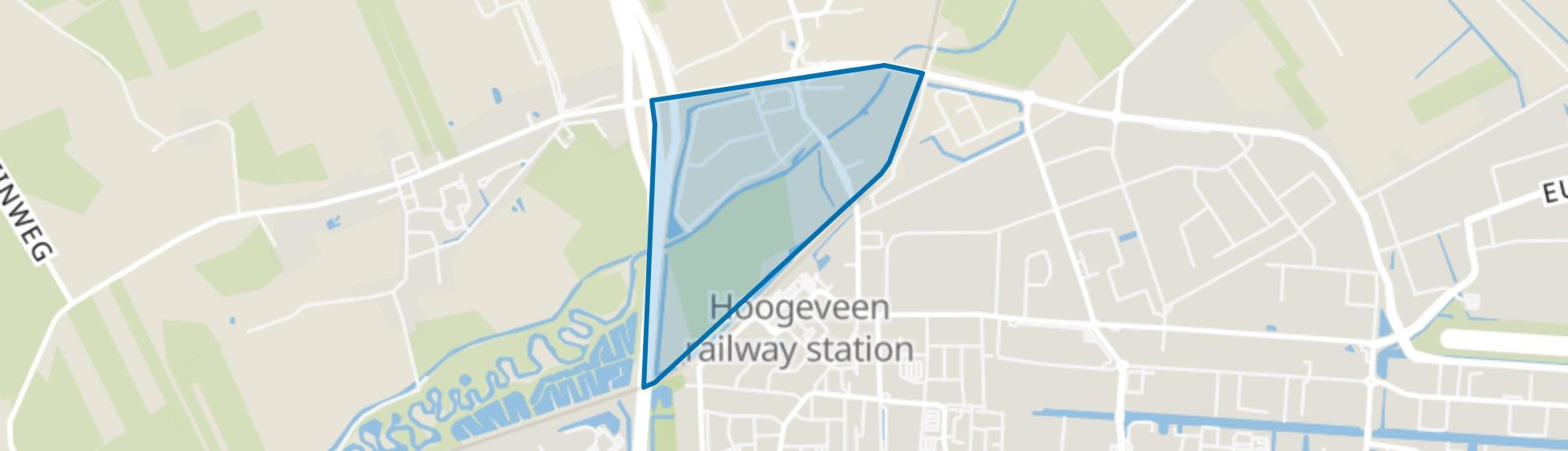 Industriegebied Toldijk, Hoogeveen map