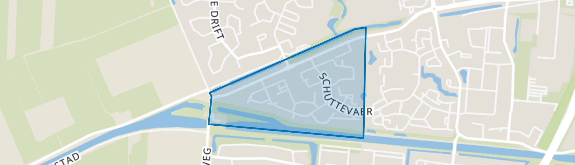 Kattouw, Hoogeveen map