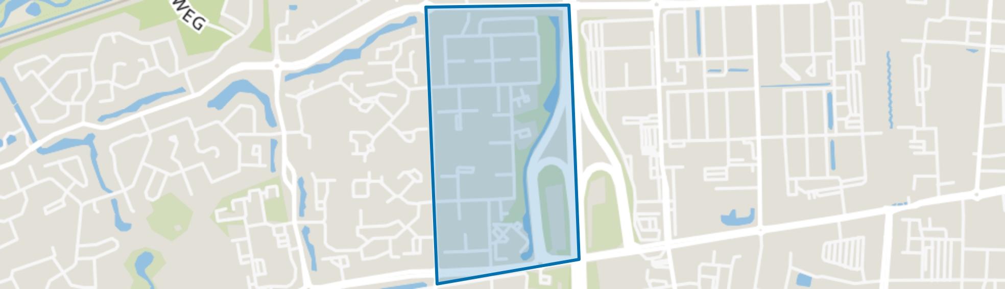 Schoonvelde-Oost, Hoogeveen map