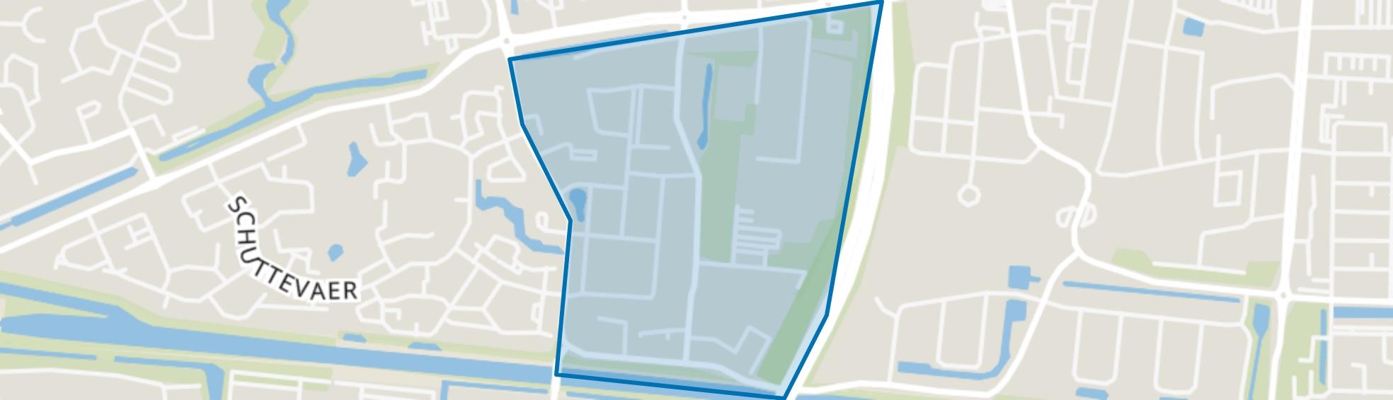 Schutlanden-Oost, Hoogeveen map