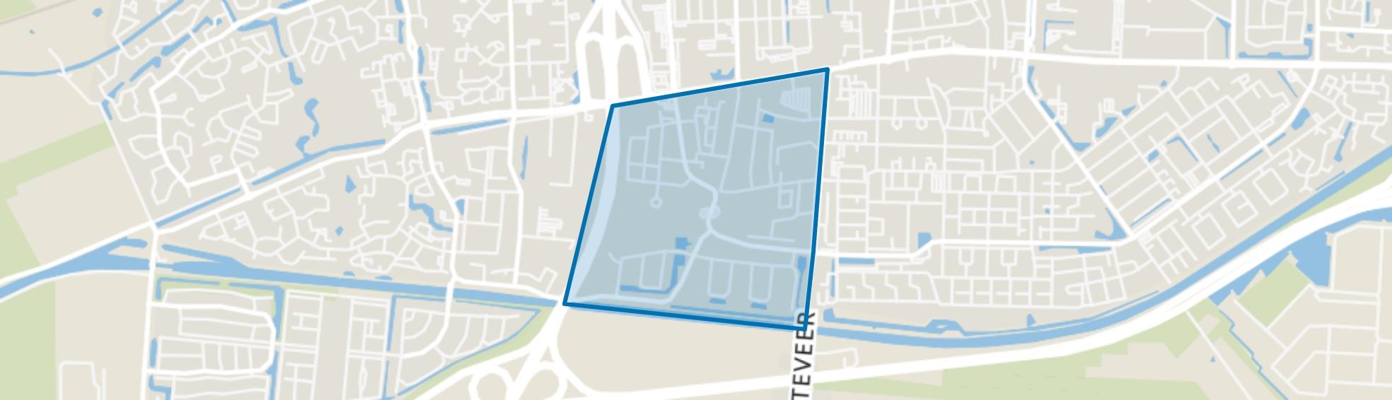 Venesluis, Hoogeveen map