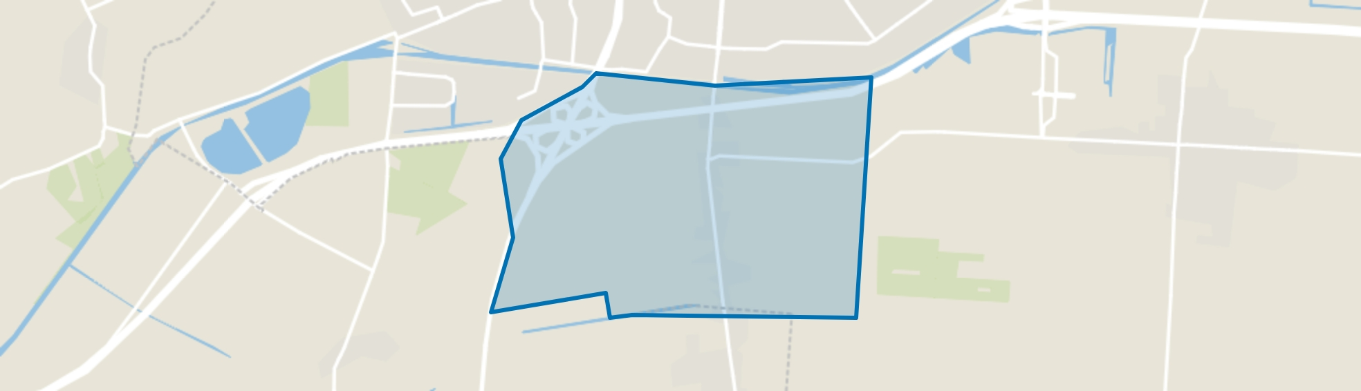 Verspreide huizen Alteveer, Hoogeveen map