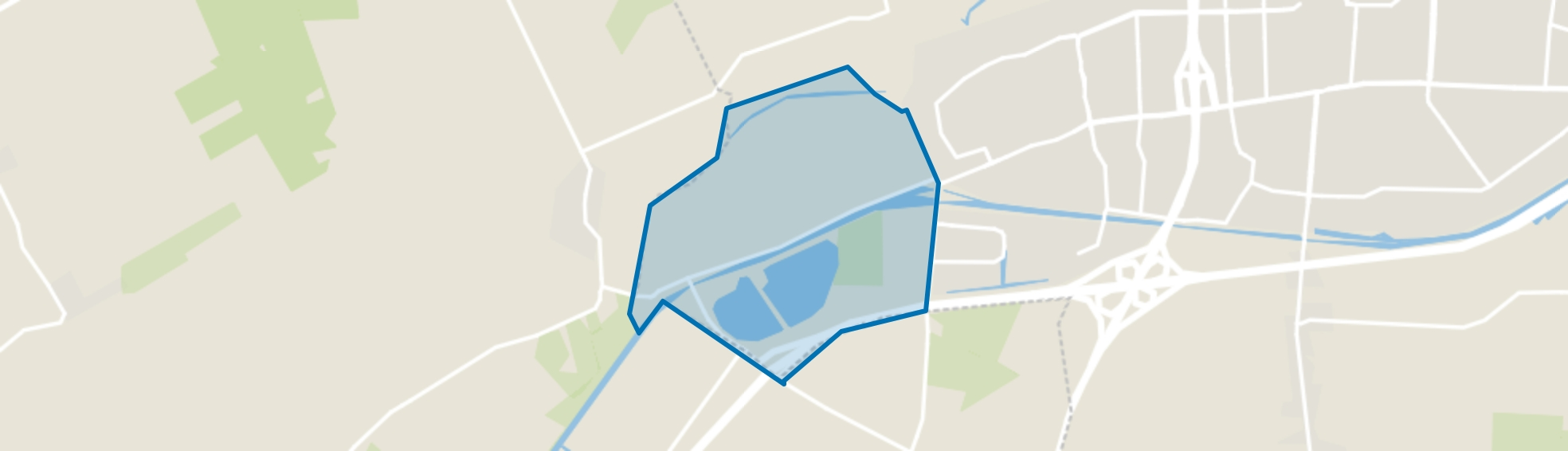 Verspreide huizen Nijstad, Hoogeveen map