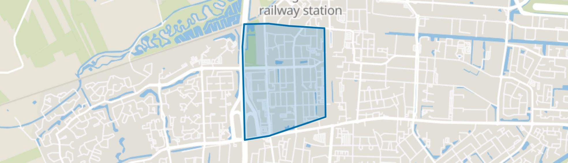 West, Hoogeveen map