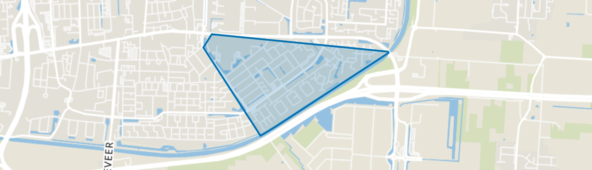 Wolfsbos, Hoogeveen map