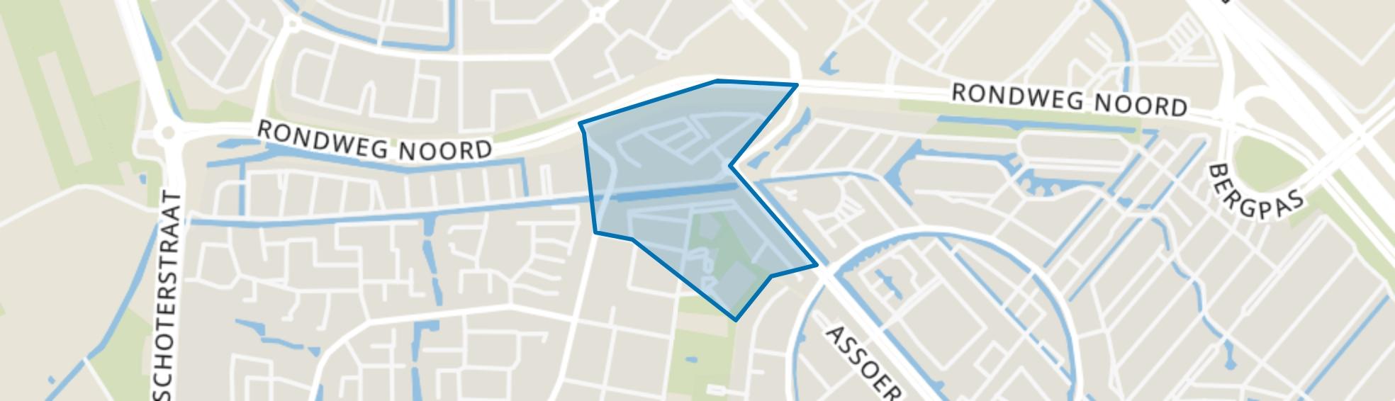 De Brinken, Hoogland map