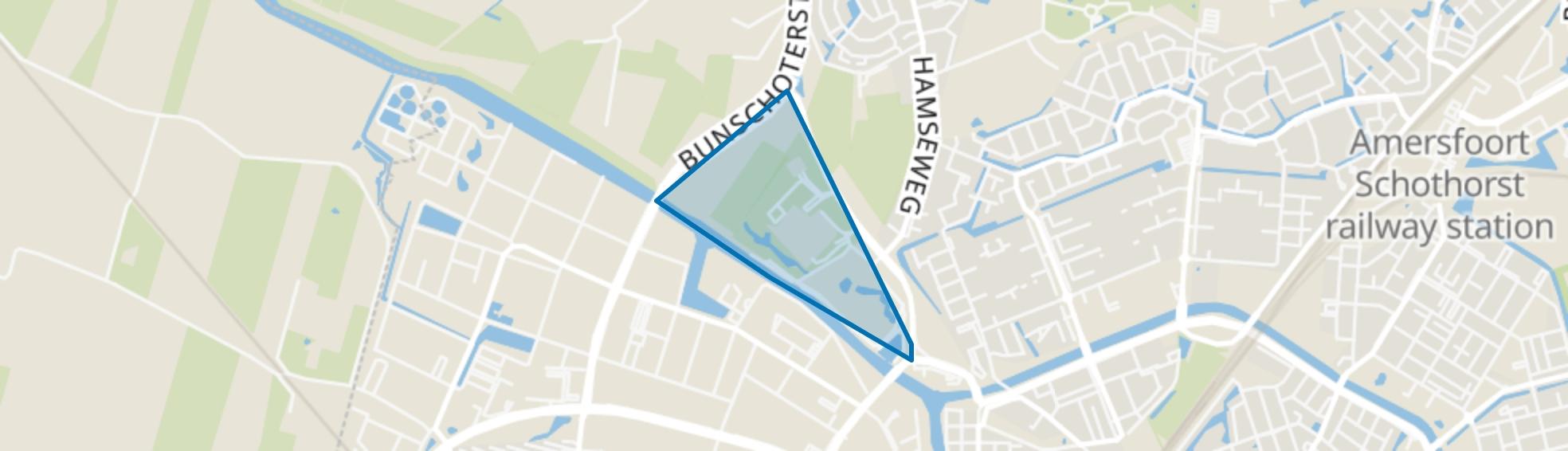 Maatweg, Hoogland map