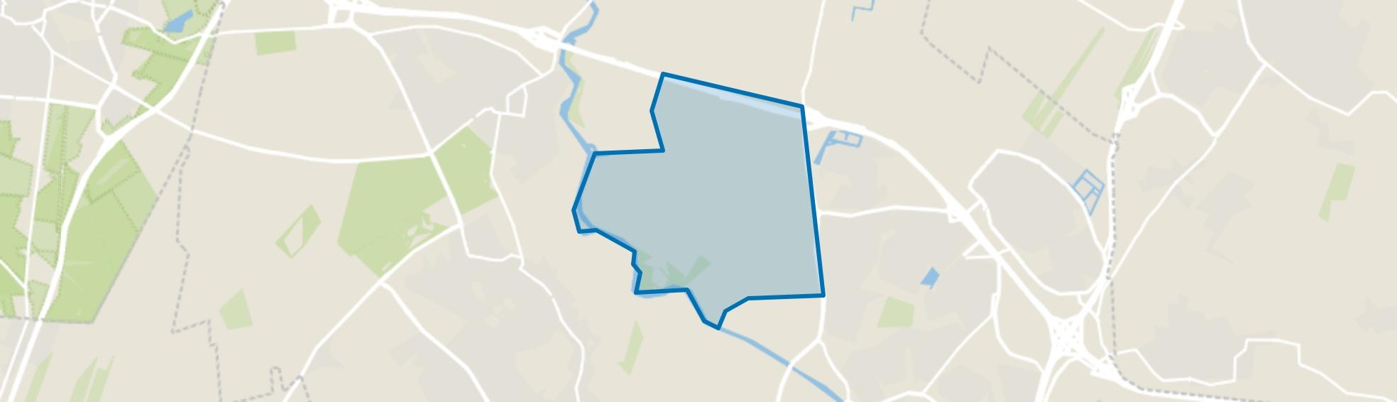 Zeldert, Hoogland map