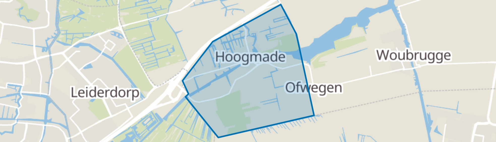 Hoogmade map
