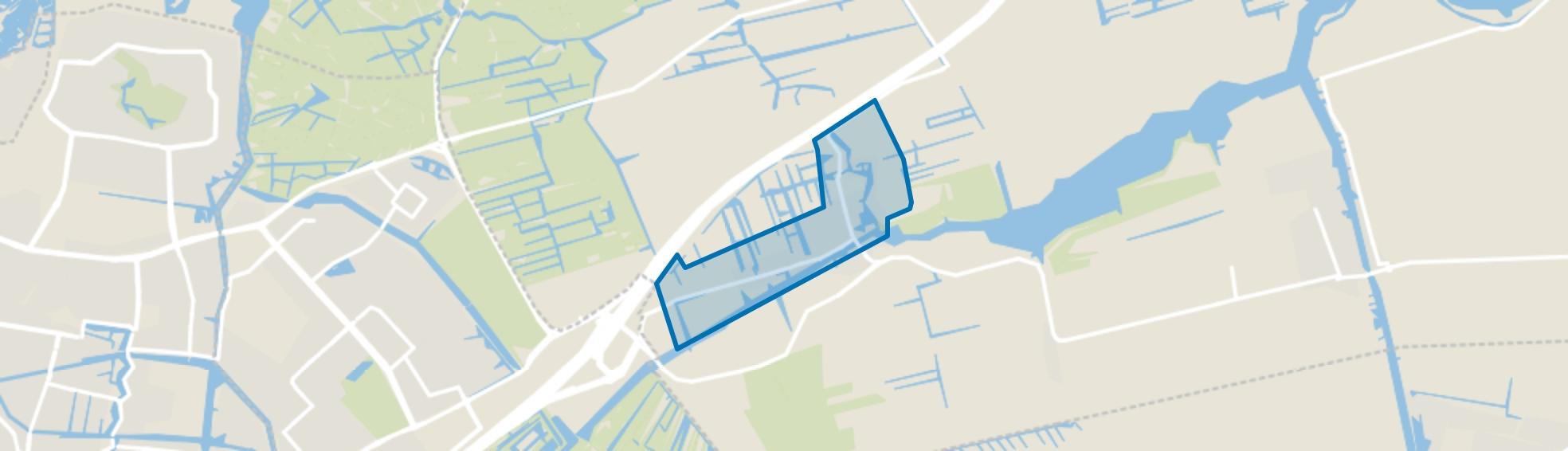 Hoogmade, Hoogmade map