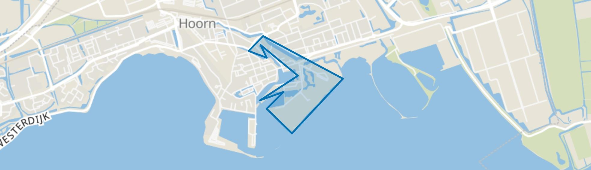 Binnenstad - Buurt 10 00, Hoorn (NH) map