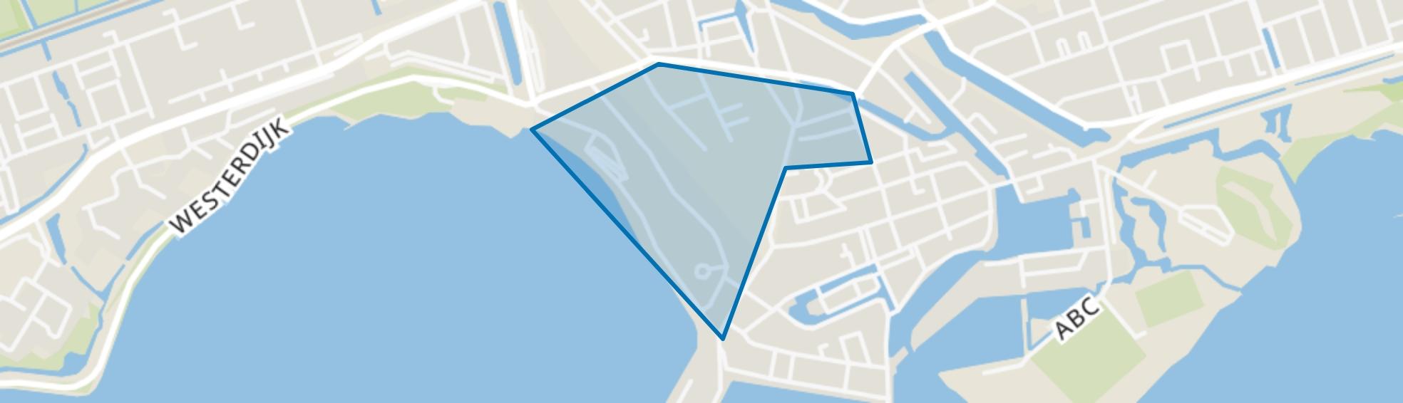 Binnenstad - Buurt 10 02, Hoorn (NH) map
