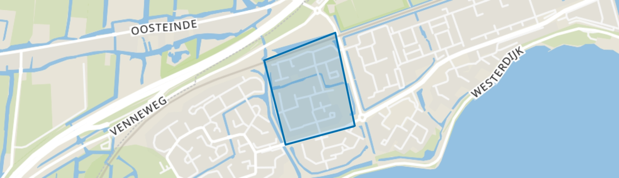 Grote Waal - Buurt 13 05, Hoorn (NH) map