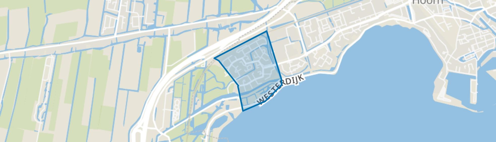 Grote Waal - Buurt 13 07, Hoorn (NH) map