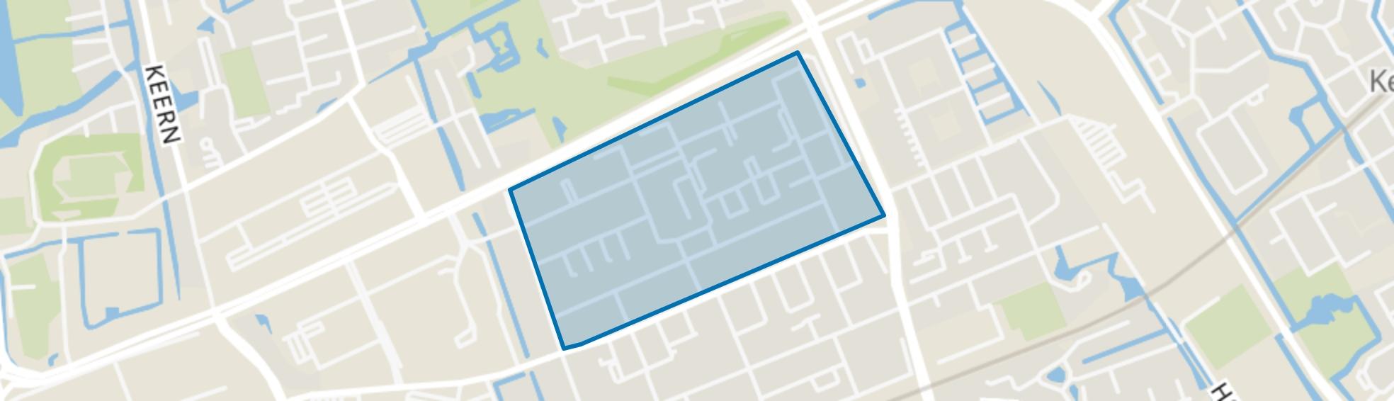 Hoorn Noord - Buurt 12 01, Hoorn (NH) map