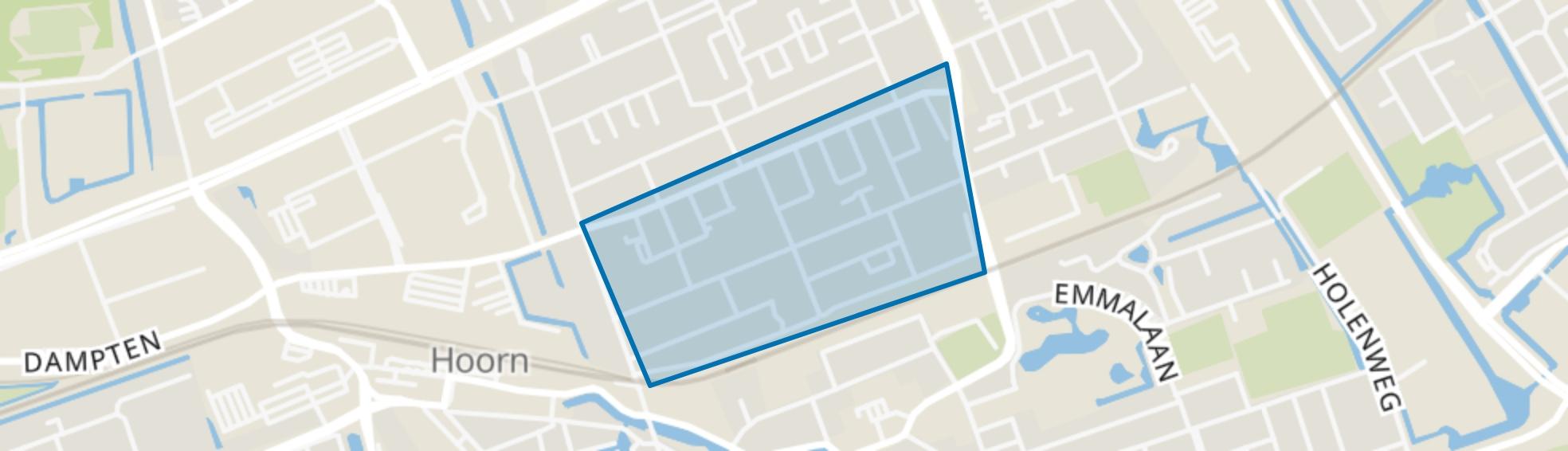 Hoorn Noord - Buurt 12 02, Hoorn (NH) map