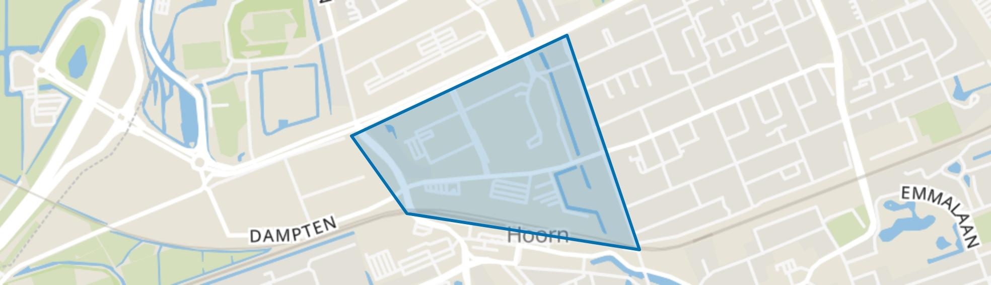 Hoorn Noord - Buurt 12 03, Hoorn (NH) map