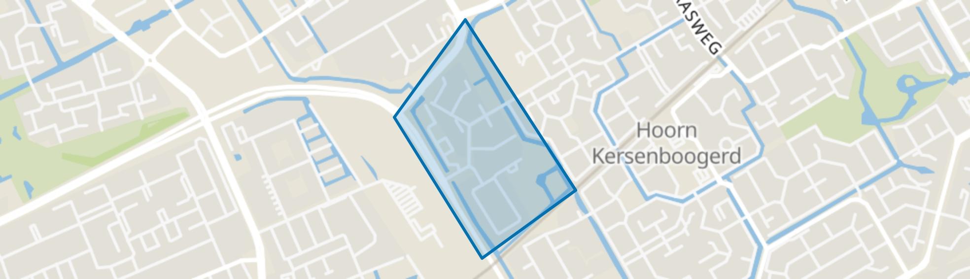 Kersenboogerd-Noord - Buurt 32 00, Hoorn (NH) map
