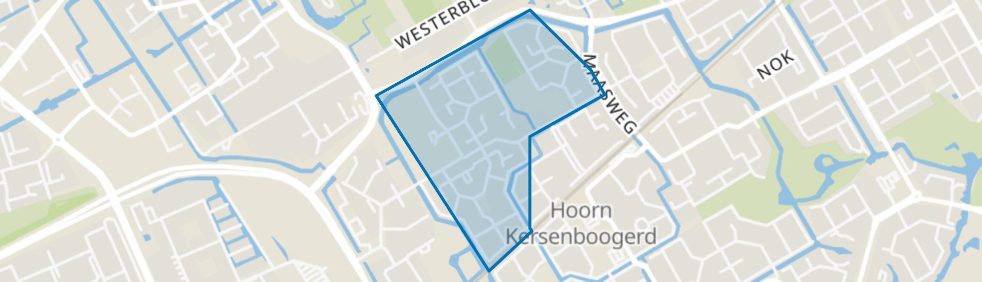 Kersenboogerd-Noord - Buurt 32 01, Hoorn (NH) map