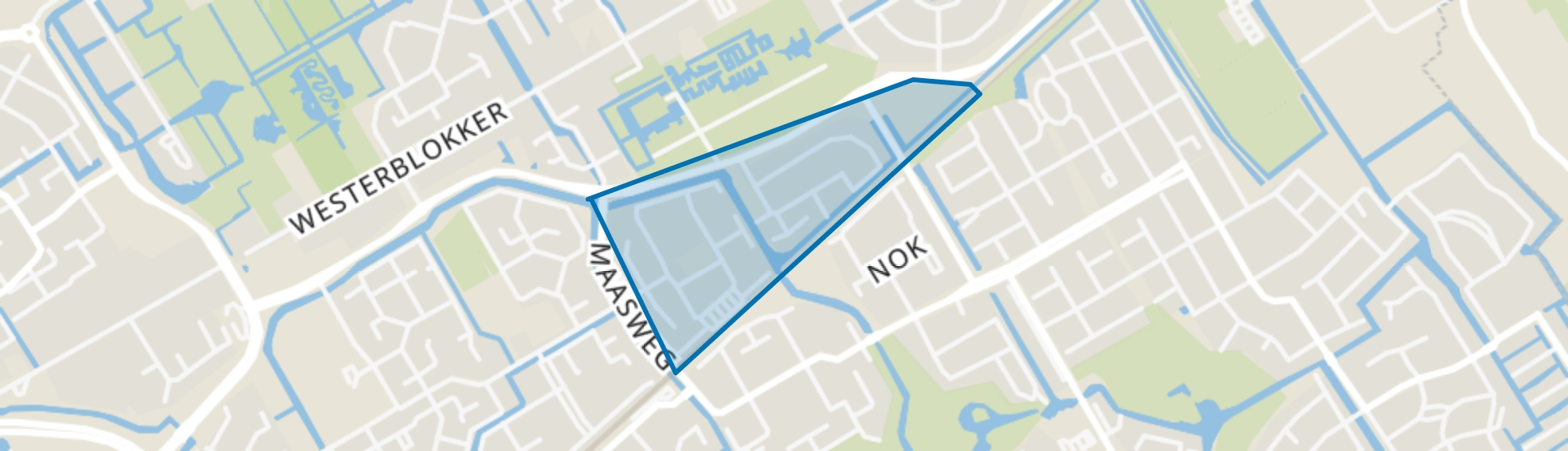Kersenboogerd-Noord - Buurt 32 03, Hoorn (NH) map