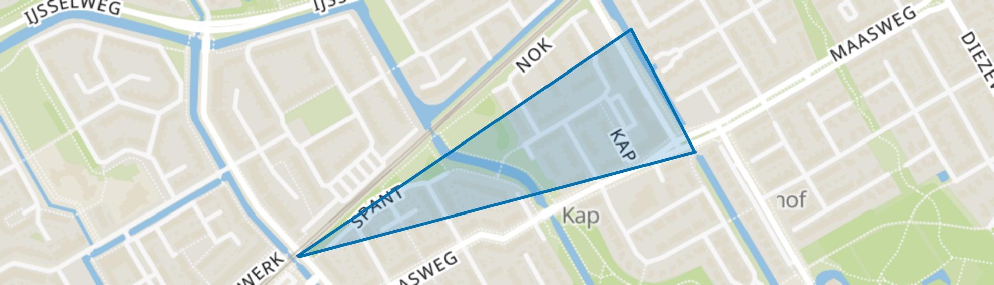 Kersenboogerd-Zuid - Buurt 33 02, Hoorn (NH) map