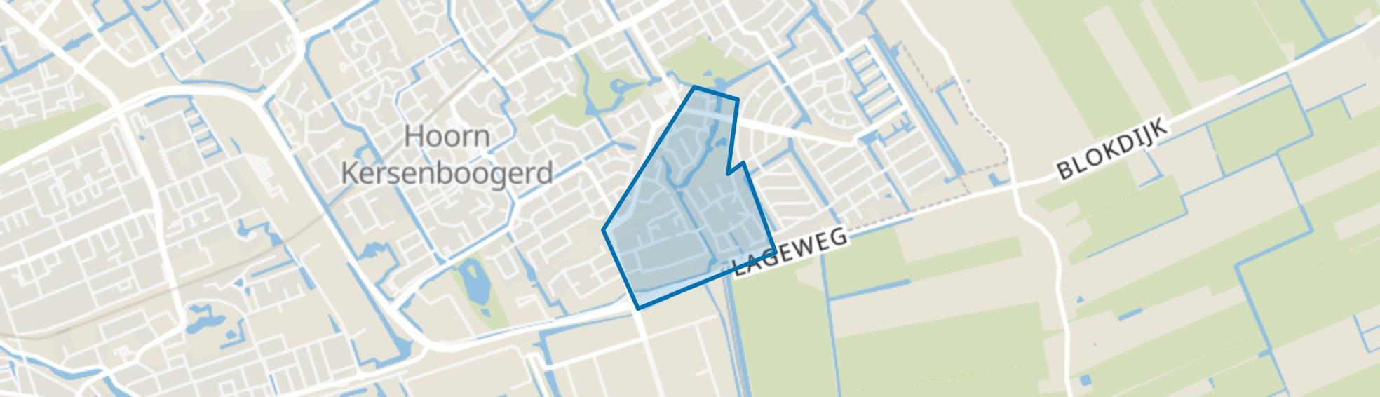 Kersenboogerd-Zuid - Buurt 33 05, Hoorn (NH) map