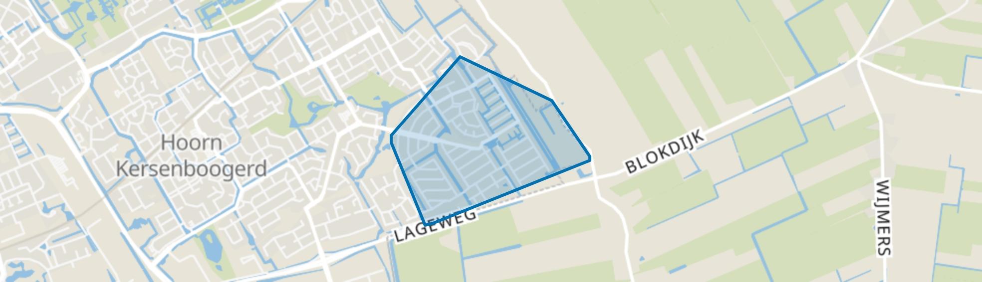 Kersenboogerd-Zuid - Buurt 33 06, Hoorn (NH) map