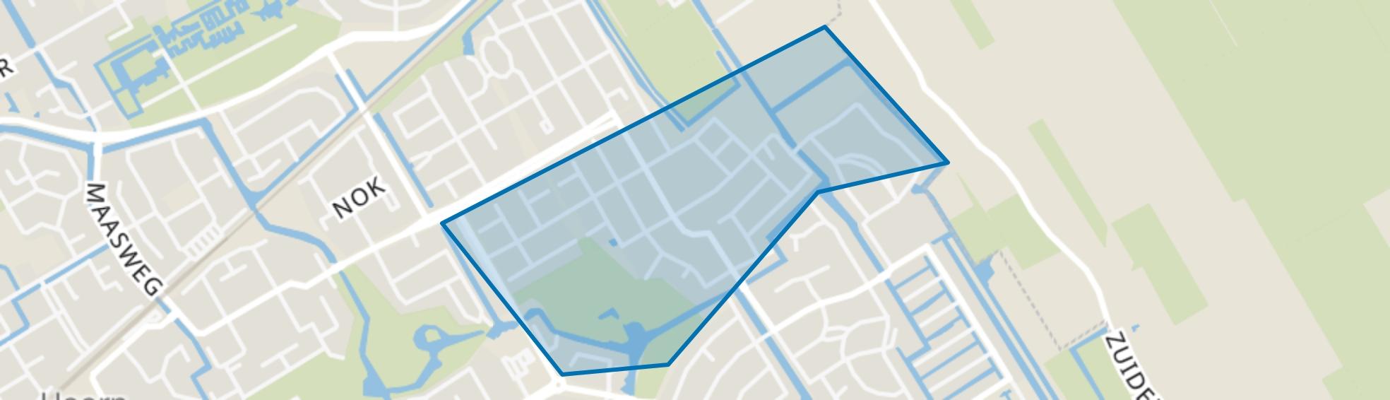 Kersenboogerd-Zuid - Buurt 33 07, Hoorn (NH) map