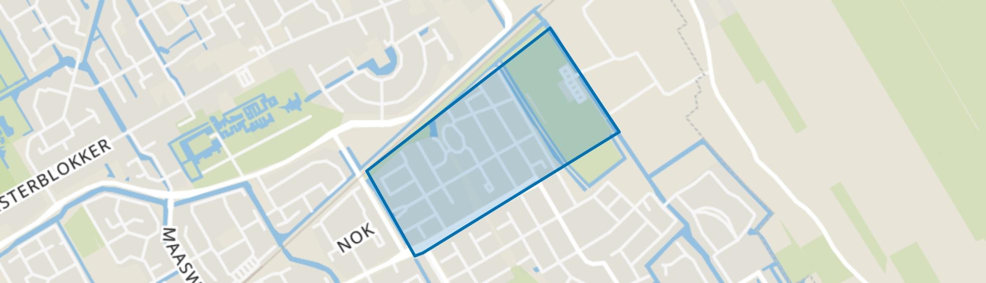 Kersenboogerd-Zuid - Buurt 33 08, Hoorn (NH) map