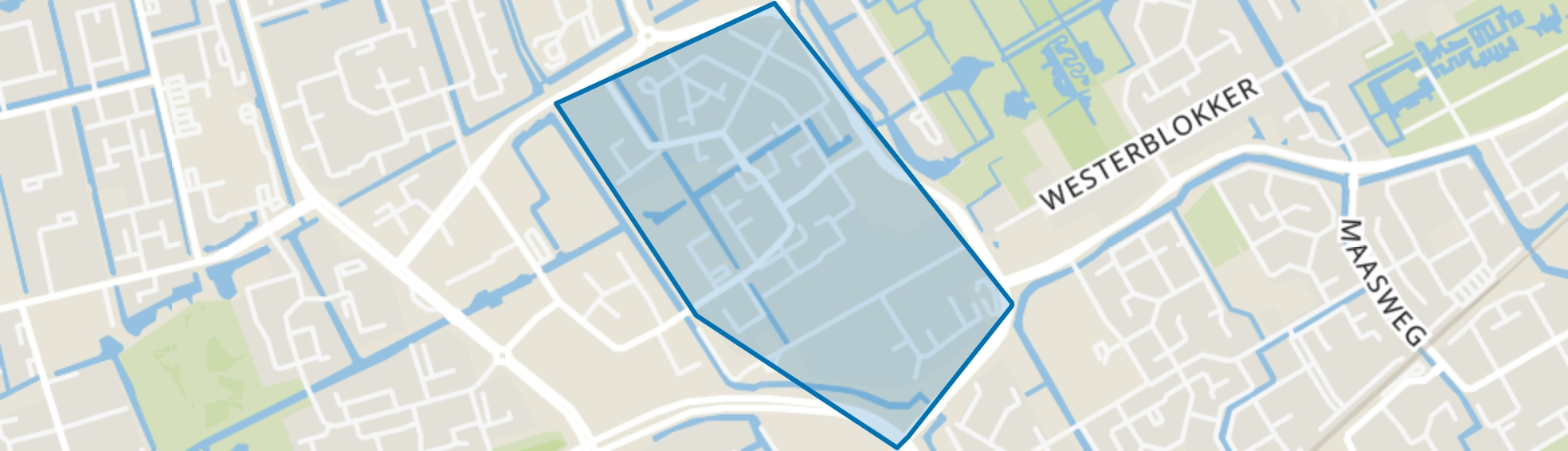 Nieuwe Steen - Buurt 22 00, Hoorn (NH) map