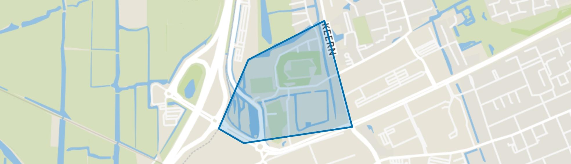 Risdam-Zuid - Buurt 20 02, Hoorn (NH) map