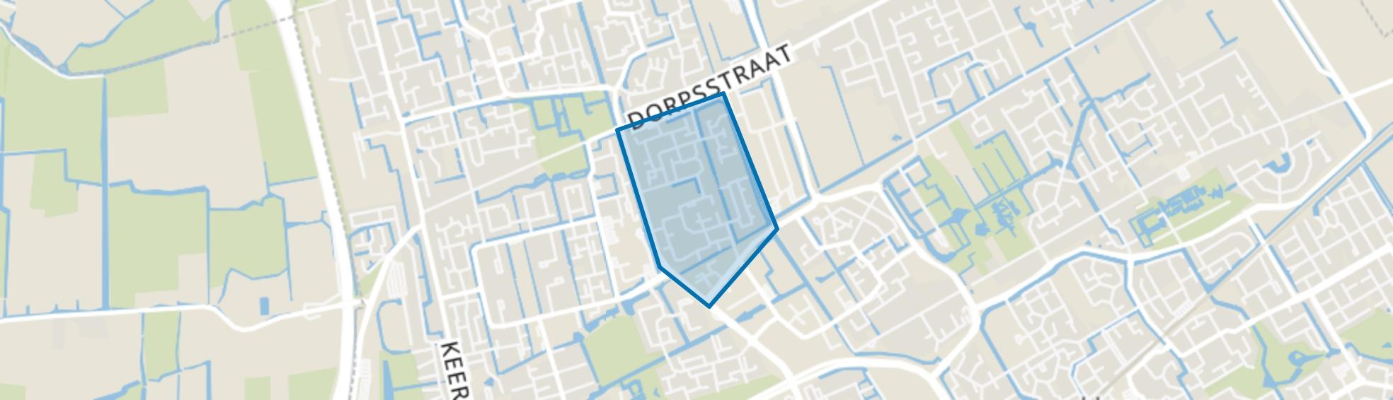 Risdam-Zuid - Buurt 20 06, Hoorn (NH) map