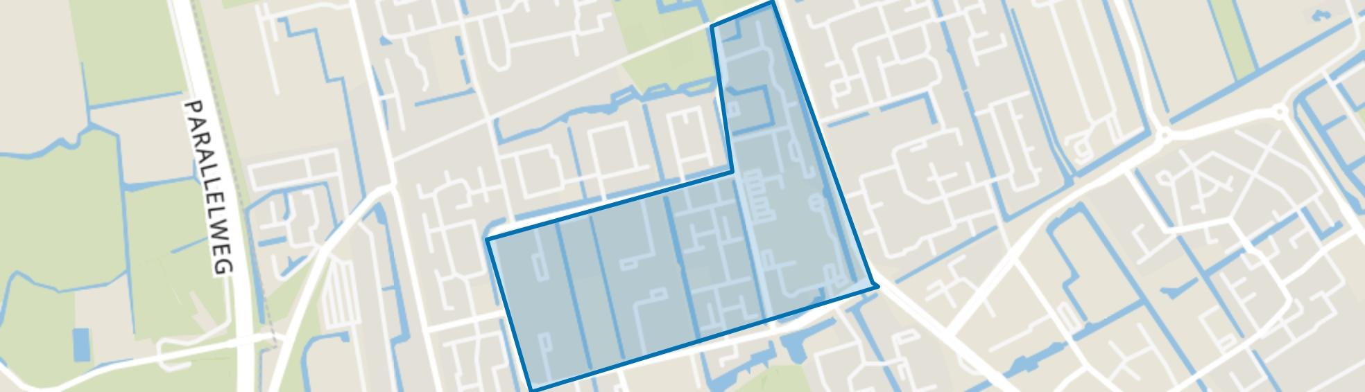 Risdam-Zuid - Buurt 20 07, Hoorn (NH) map