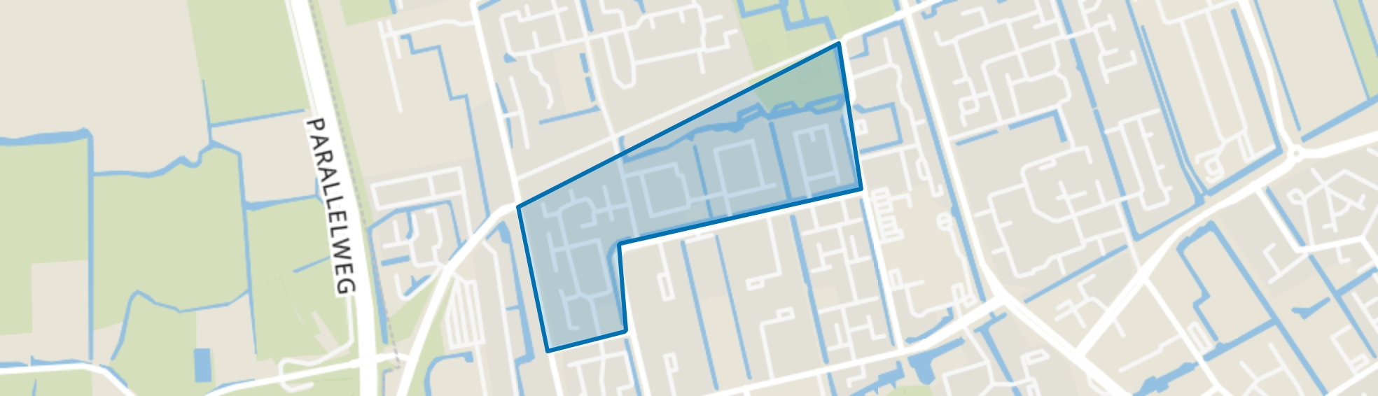 Risdam-Zuid - Buurt 20 08, Hoorn (NH) map