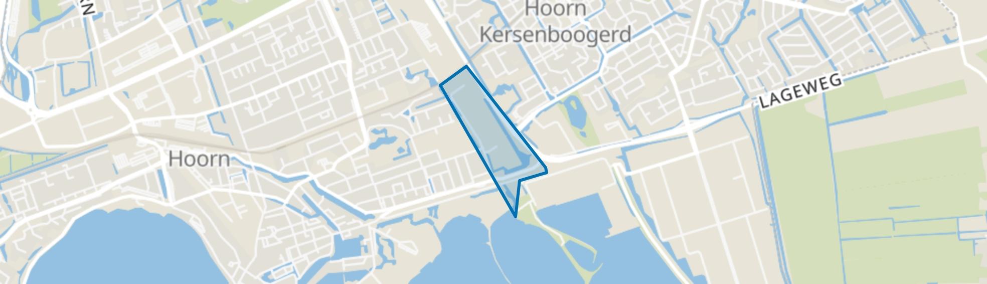 Venelaankwartier - Buurt 11 00, Hoorn (NH) map