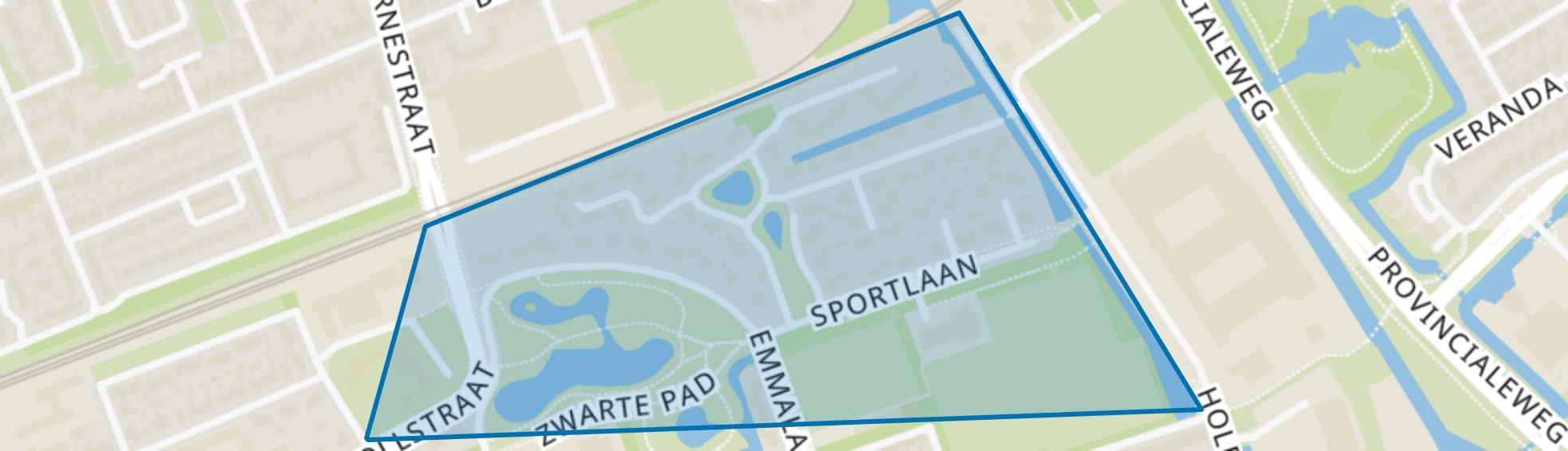 Venelaankwartier - Buurt 11 01, Hoorn (NH) map