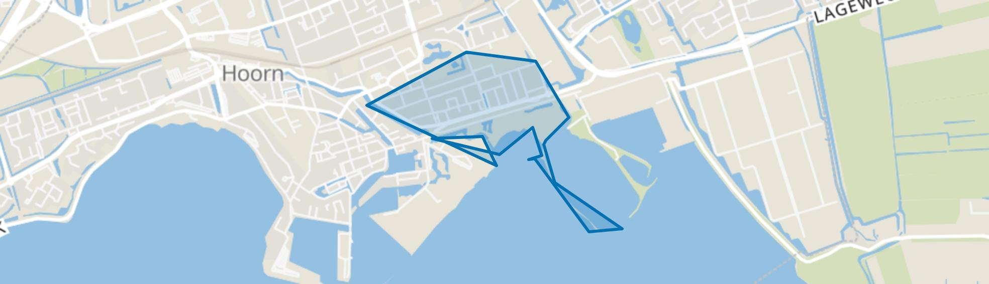 Venelaankwartier - Buurt 11 02, Hoorn (NH) map